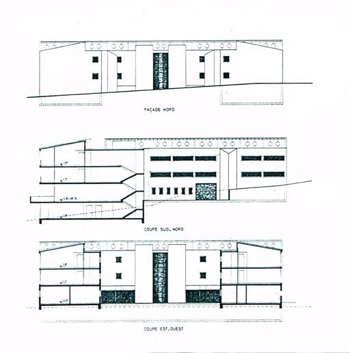 Coupes et façades